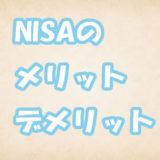 【NISA超入門】NISAのメリットとデメリットとは
